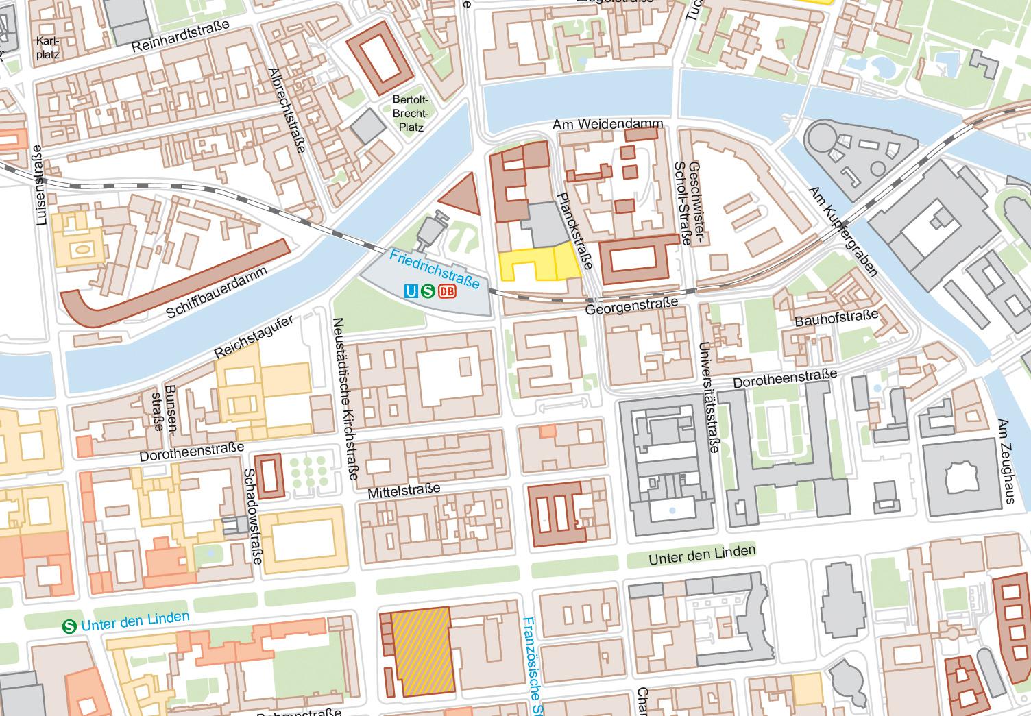 Vektor Berlin Ausschnitt