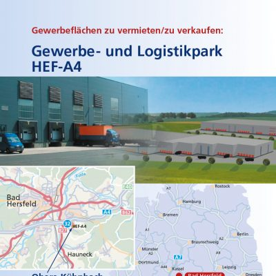 Logistikpark Broschüre