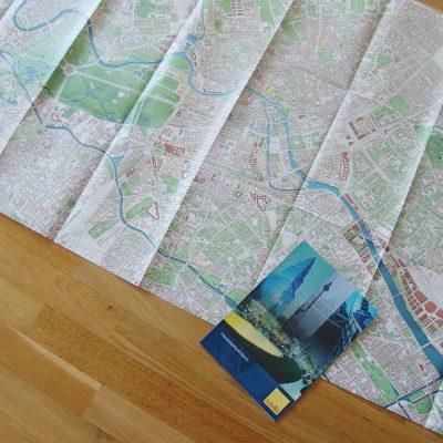 Faltplan Berlin für die Immobilienbranche