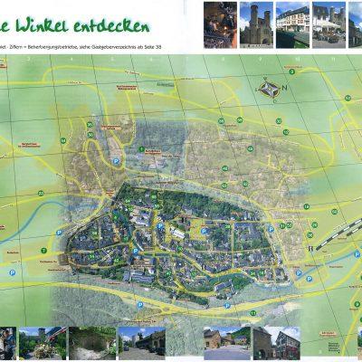 Plan nach Luftbild: Arbeit aus früherer Tätigkeit